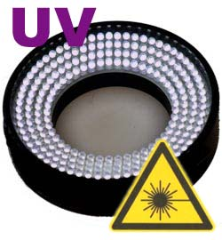 LED-Ringlicht UV-Beleuchtung industrielle BV